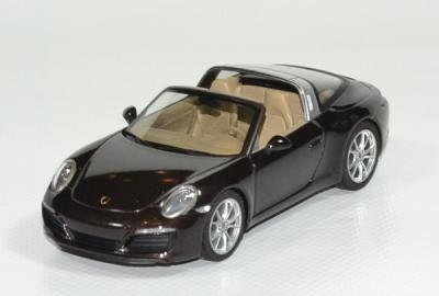 Porsche 911 Targa 4S marron métallisé