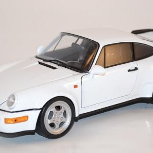 Porsche 911 turbo 964 welly 1 18 autominiature01 com wel18026we 1