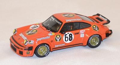 Porsche 934 #68 24 h du mans jagermeister 1978 Ixo 1/43
