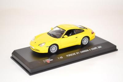 Porsche 991-996 Carrera 4 au 1-43 de High Speed jaune 9209SREF