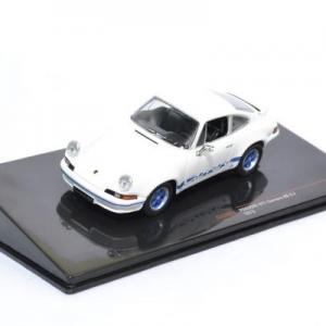 Porsche 911 Carrera RS 2,7 1973 blanche bleu