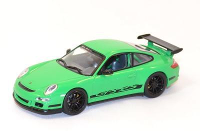 Porsche 997 GT3 rs verte 1/43 Yatming ref yat43204gr
