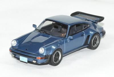 Porsche 911 / 930 turbo USA 1979 bleu métallisé