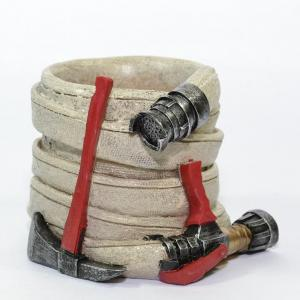 pot a crayon Pompier avec LDV (lance)