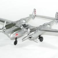 Red bull p38 lightning avion 1 48 new ray autominiature01 1