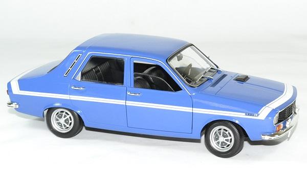 Renault 12 gordini bleu 1971 norev 1 18 autominiature01 4