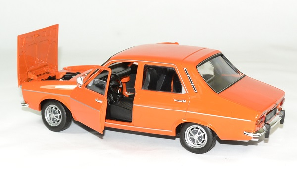 Renault 12 ts 1973 orange norev 1 18 autominiature01 4