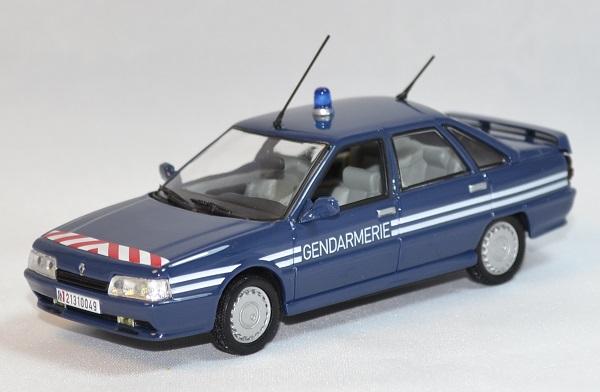 Renault 21 turbo gendarmerie bri norev 1 43 autominiature01 com 1