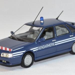 Renault 21 turbo 2.0l french gendarmerie BRI norev 1/43