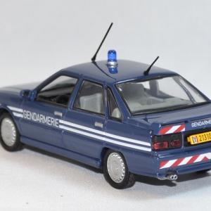 Renault 21 turbo gendarmerie bri norev 1 43 autominiature01 com 2