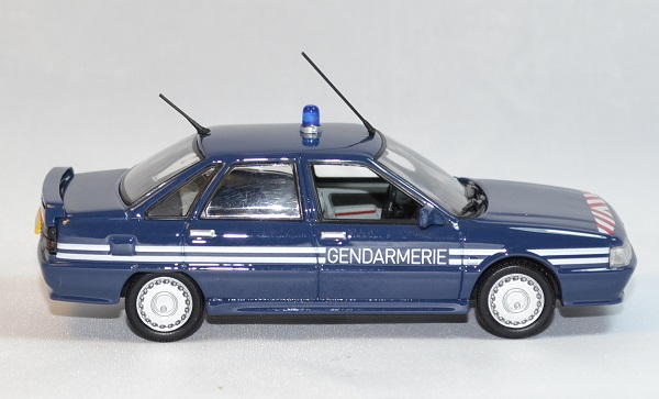 Renault 21 turbo gendarmerie bri norev 1 43 autominiature01 com 3