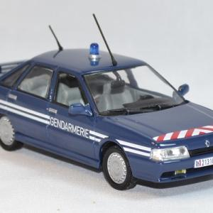Renault 21 turbo gendarmerie bri norev 1 43 autominiature01 com 4