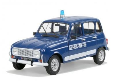 Renault 4l Gendarmerie 1989 solido 1/18