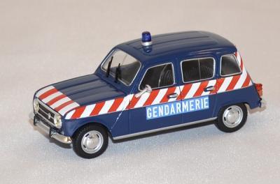 Renault 4l gendarmerie autoroute 1968 norev 1/43