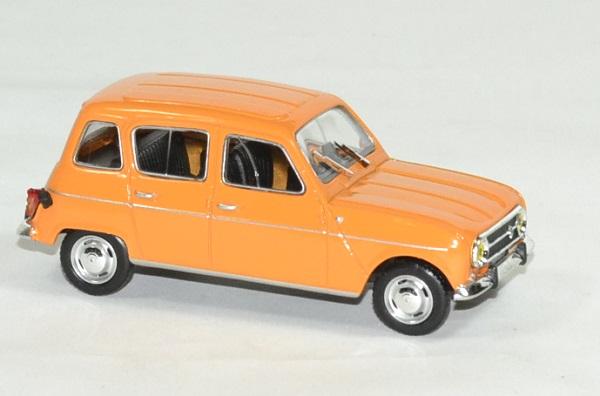 renault 4l 1974 orange miniature by norev 1 43 nor510039. Black Bedroom Furniture Sets. Home Design Ideas