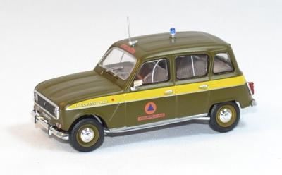 Renault 4l Sécurité Civile 1980