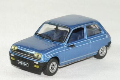 Renault 5 alpine serie presse autominiature01 1