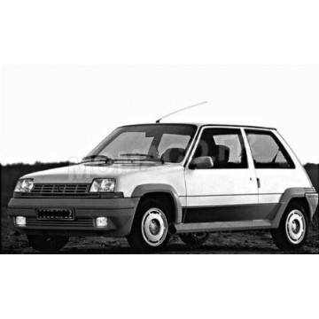 Renault 5 gt turbo 1985 blanche