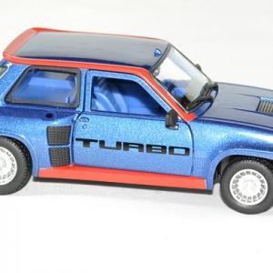 Renault 5 turbo bleu 1 24 bburago autominiature01 3