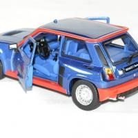 Renault 5 turbo bleu 1 24 bburago autominiature01 4