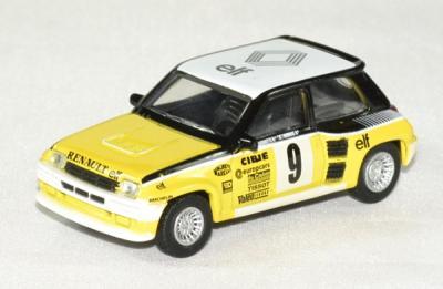 Renault 5 turbo 1er monte carlo #9 Ragniotti - Andrié