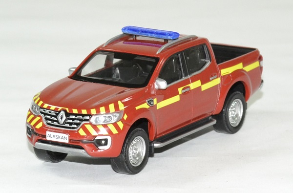 Renault alaskan pompier pick up 2017 1 43 norev autominiature01 1