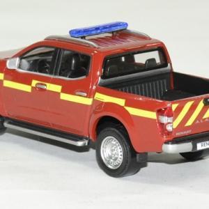 Renault alaskan pompier pick up 2017 1 43 norev autominiature01 2
