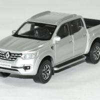 Renault alaskan2017 pick up argent 1 43 norev autominiature01 1