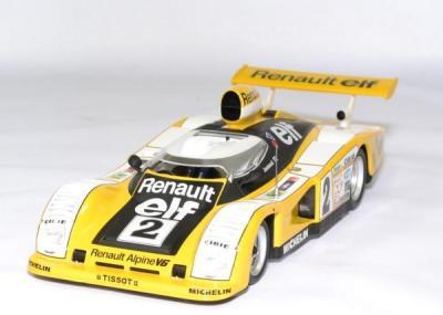 Renault alpine A 442B 1er 24h du mans 1978 #2 Pironi / Joussaud