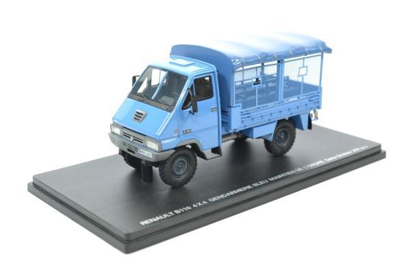 Renault b110 4x4 mo egm gendarmerie 200pcs 1 43 prefex autominiature01 721 1