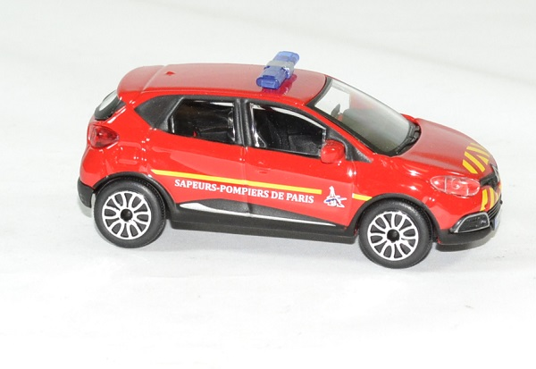 Renault captur pompier bspp 1 43 bburago autominiature01 3