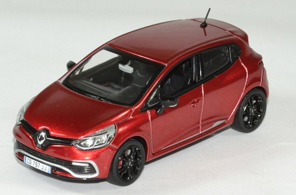 Renault clio rs 2013 norev 1 43 autominiature01 1