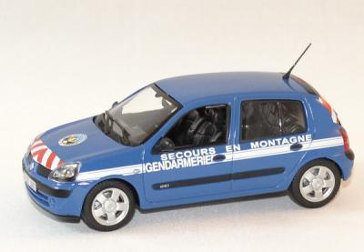 Renault Clio Mountain rescue gendarmerie 2003
