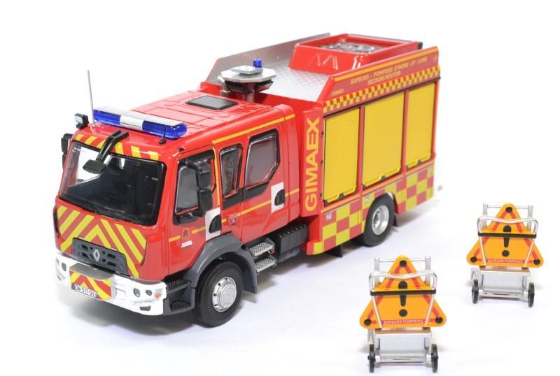 Renault d15 vsr gimaex sdis 37 pompiers 1 43 eligor autominiature01 116286 1
