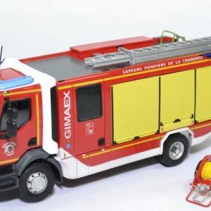 Renault D16 FPTSR Gimaex Sapeurs Pompiers SDIS 16 Charente