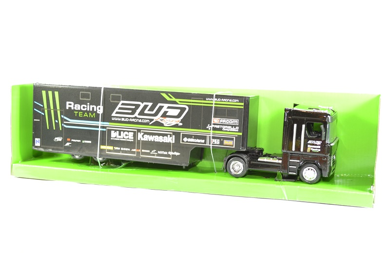 Renault magnum bud racing monster 1 43 new ray autominiature01
