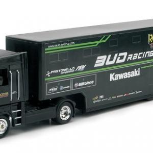 Renault Magnum Kawasaki Bud racing 1-43 New ray