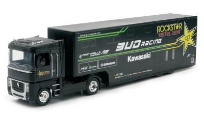 Renault Magnum Kawasaki Bud racing 1-43 New ray