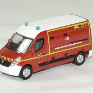 Renault master pompiers 2014 sdis 34 1 64 norev autominiature01 1