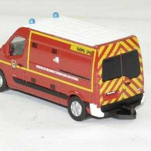 Renault master pompiers 2014 sdis 34 1 64 norev autominiature01 2