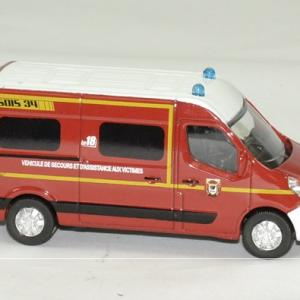 Renault master pompiers 2014 sdis 34 1 64 norev autominiature01 3