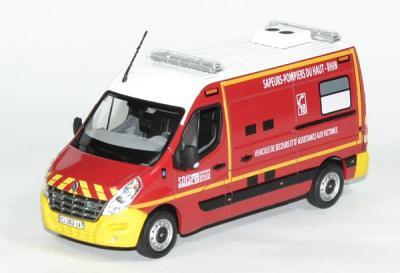 Renault Master VSAB Pompiers du Haut Rhin de 2011