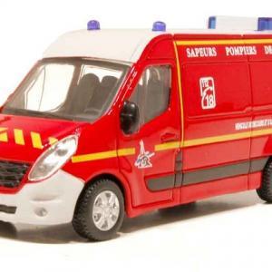 Renault master vsav pompiers burago 1 43 32008rd autominiature01 1
