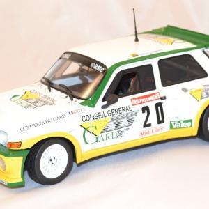 Renault maxi 5 turbo rallye 1 18 solido 1986 autominiature01 com 1