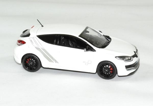 Renault megane 2014 rs trophy 1 43 blanc norev autominiature01 3
