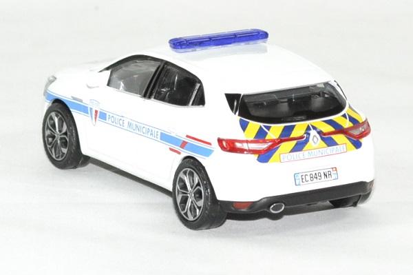 Municipale Mégane Miniature Renault Norev 143 Police 2016 JcKTlF13