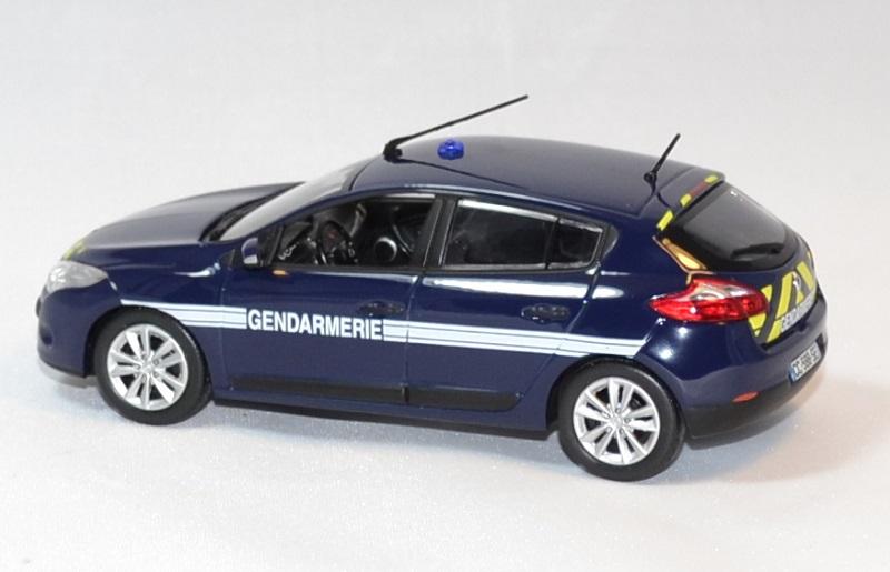 renault m gane gendarmerie nationale 2012 norev 1 43. Black Bedroom Furniture Sets. Home Design Ideas