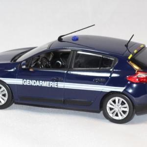 Renault megane gendarmerie 2012 norev 1 43 autominiature01 1