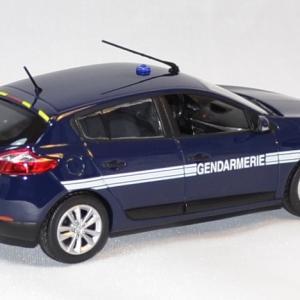 Renault megane gendarmerie 2012 norev 1 43 autominiature01 2