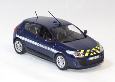 Renault mégane Gendarmerie Nationale 2012